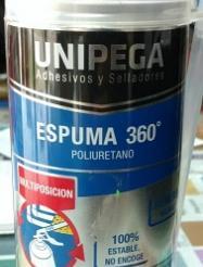 Espuma de poliuretano UNIPEGA
