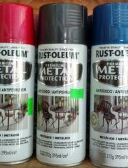 aerosol metalico